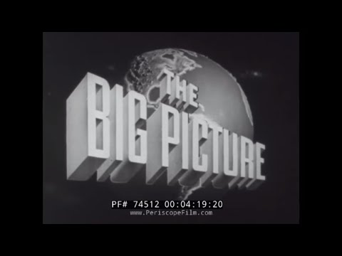 "THE BIG PICTURE ""ARMY IN ACTION"" MARSHALL PLAN EPISODE 9 74512"