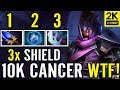 3x Shield 10K MMR Cancer Build AM Carry By ABED Dota 2 mp3