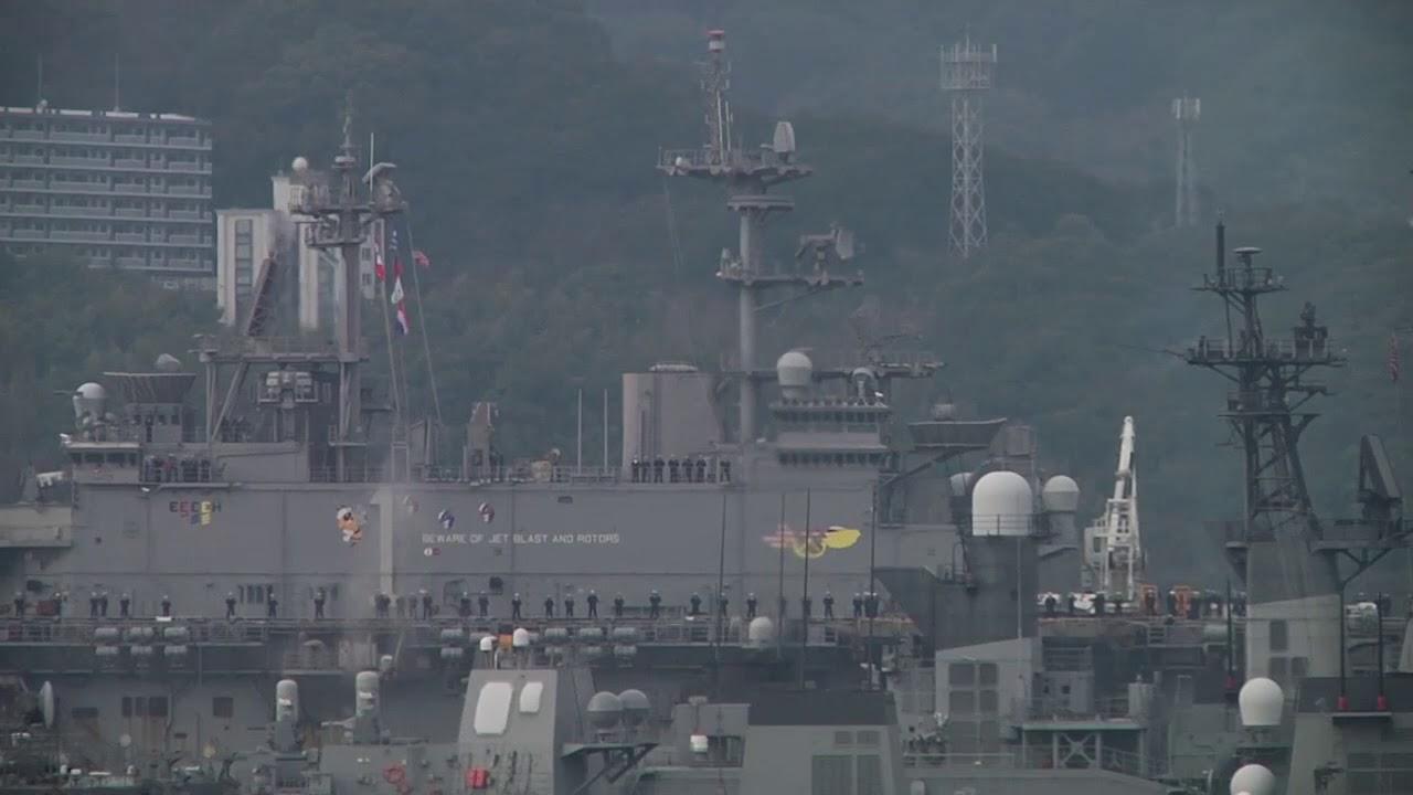 USS Wasp Arrives at CFAS SASEBO, NAGASAKI, JAPAN 01 14 2018
