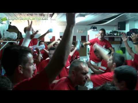 Les celebracions del CF Pobla de Mafumet després d