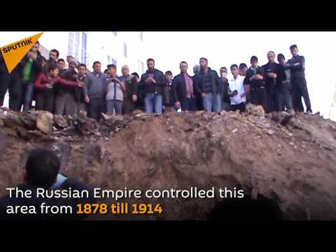 The Tomb Of A Russian Officer Found In Turkey
