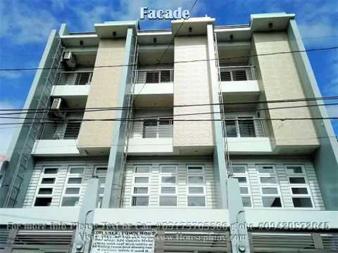 FOR SALE QC Townhouse 4 storey with Deck near Banawe Mayon