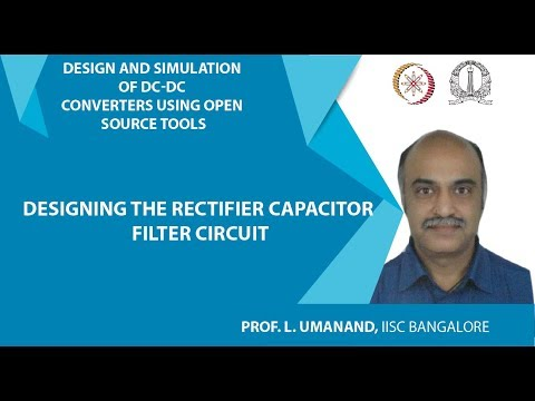 Designing the rectifier capacitor filter circuit