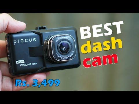 PROCUS CONVOY Car Dash Camera Review, Best Dash Cam For Just Rs. 3,499