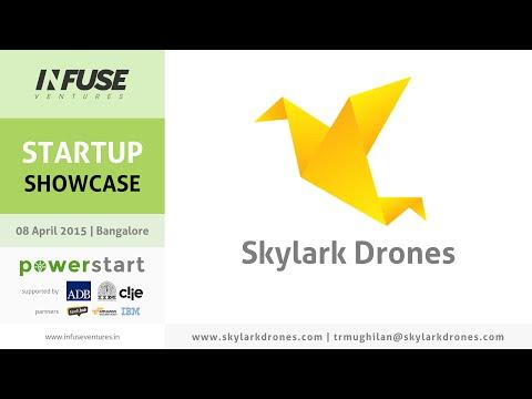 Skylark Drones - Infuse Startup Showcase (08 Apr 2015)