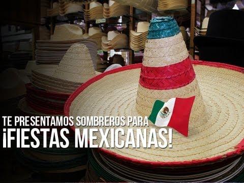 Sombreros para ¡fiestas mexicanas! - YouTube 6226d38c73a