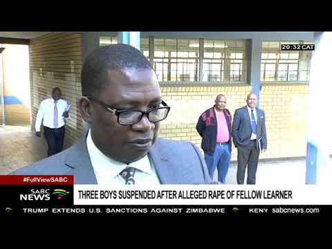 Lesufi visits a Soweto school following alleged rape of a leaner