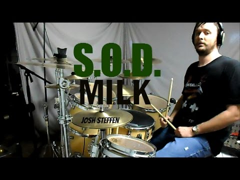 S.O.D. - Milk - drum cover