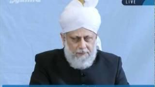 Проповедь Хазрата Мирзы Масрура Ахмада (07-10-2011)