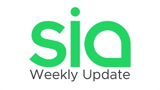 Sia Weekly Update – Week of November 4th