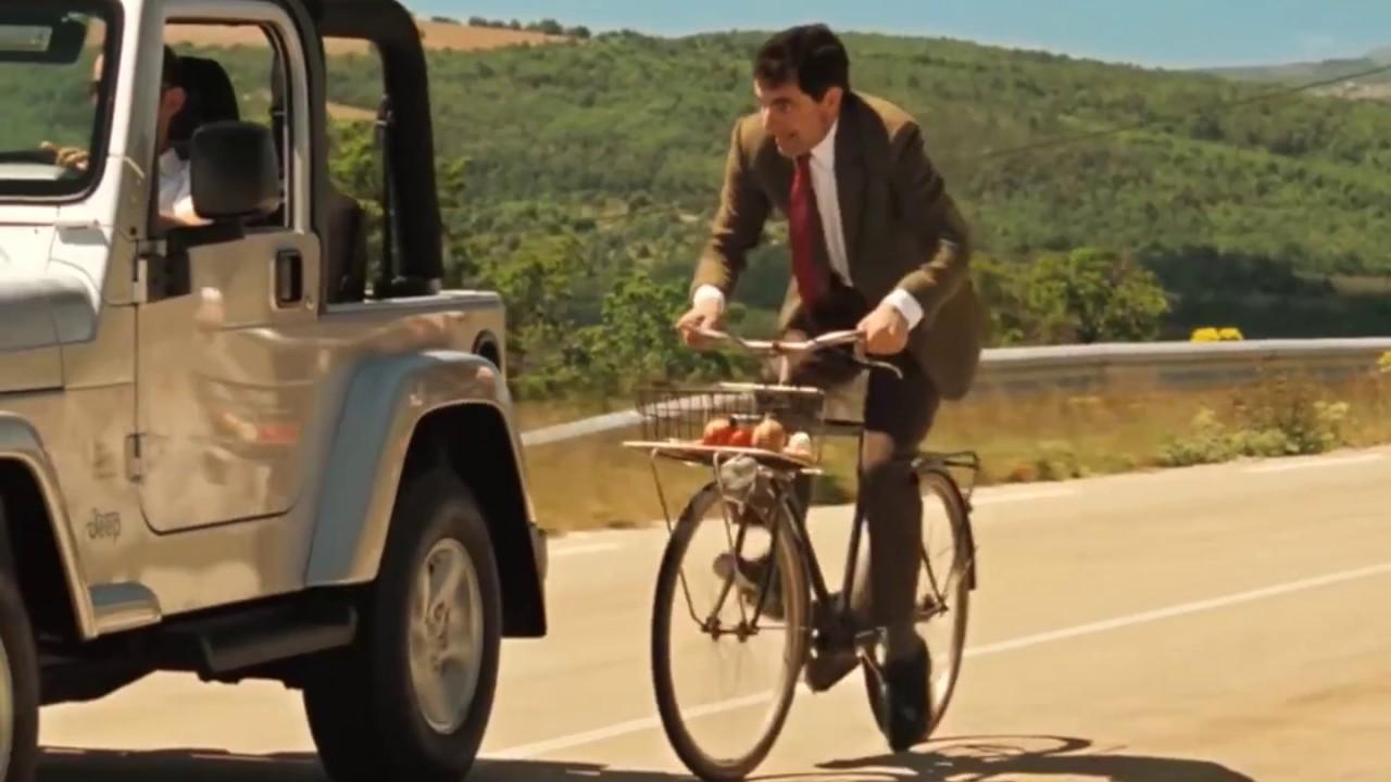 Mr Bean S Holiday 2007 Bike Ride Scene Rowan Atkinson Movie Qhd Youtube