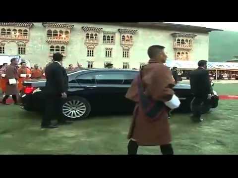 PM Shri Narendra Modi Inaugurates Bhutan's Supreme Court Building - 15 June 2014