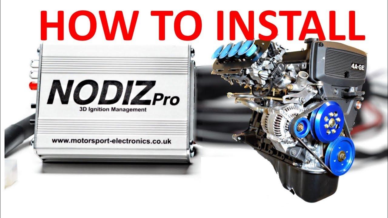 NODIZ Pro Ignition-Only ECU – Motorsport Electronics