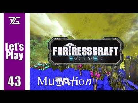 FortressCraft Evolved : Mutation - Ep 43 Launch Platform
