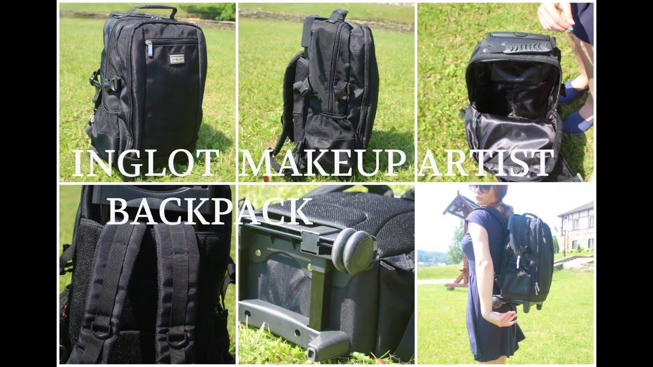 Inglot Makeup Artist Backpack With Wheels