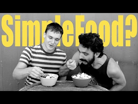 Minimalism VS Health Food? Minimalism VS McDonalds [Andrew Perlot + Raw Food Health]