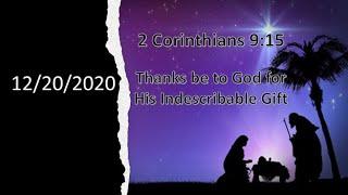 12/20/2020 Christmas Program
