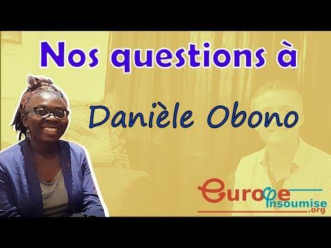 Nos questions à Danièle Obono