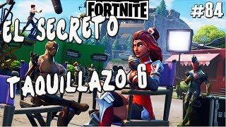 FORTNITE'S SECRET CHALLENGE ? BOX OFFICE 6 GUIDE WEEK 6 BATTLE ROYALE ? Gameplay English