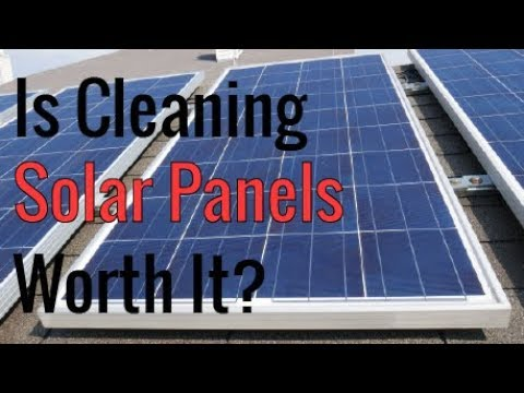 Is Cleaning Solar Panels Worth It? - Real World Test Results