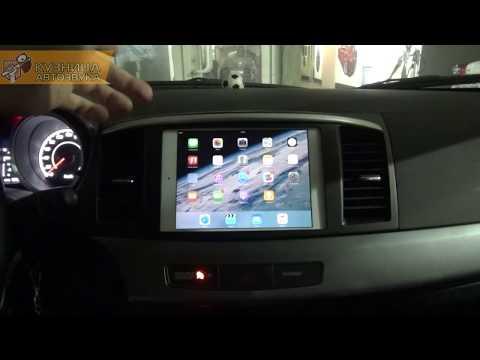 Внедряем планшет в Mitsubishi Lancer X