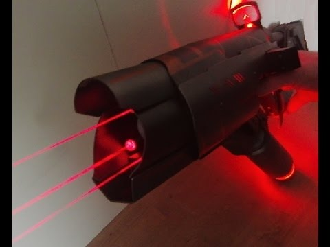 Custom build teaser: If the predator had a laser rifle ...