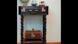 Вторая жизнь старого чемодана. Оld suitcase.