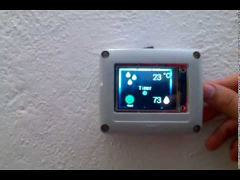 Thermostatino - Arduino thermostat - Nextion Display | FunnyCat TV