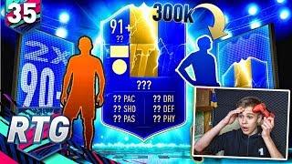 TRAFIŁEM MEGA TOTSA 91+ WALKOUT!  | FIFA 19 Ultimate Team RTG [#35]