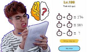 Brain Out Lv 202 Phần 11 | Cô Giáo Không Phải Là Người Thông Minh Nhất
