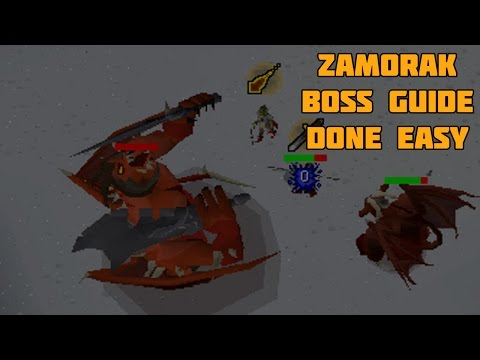 Oldschool Runescape - Duo Zamorak Godwars Guide - K'ril Tsutsaroth Guide Done Easy