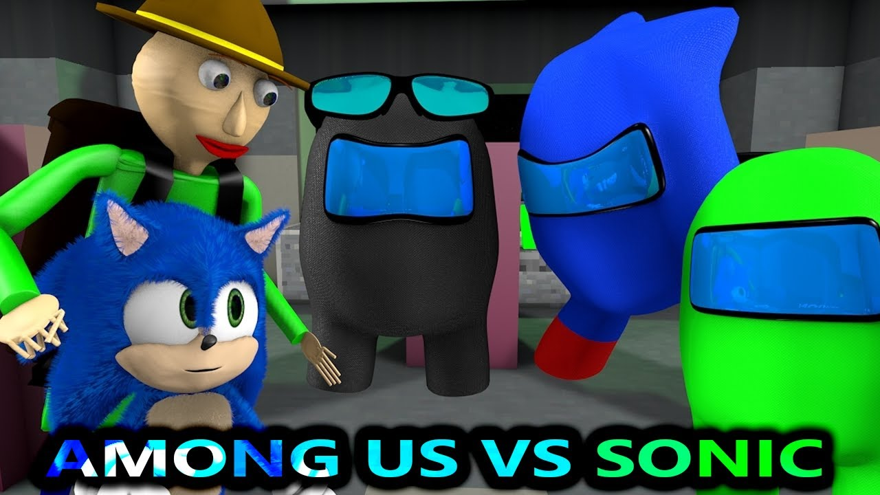 Download AMONG US vs SONIC & BALDI CHALLENGE! (Official) Cartoon Minecraft Animation Imposters & Crewmates