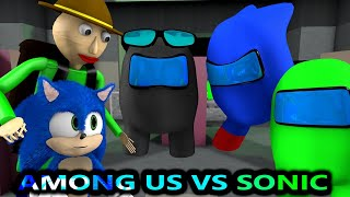 AMONG US vs SONIC & BALDI CHALLENGE! (Official) Cartoon Minecraft Animation Imposters & Crewmates