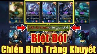 [Gcaothu] Phản ứng team địch khi đối đầu biệt đội Chiến Binh Trăng Khuyết - Giơ tay xin hàng