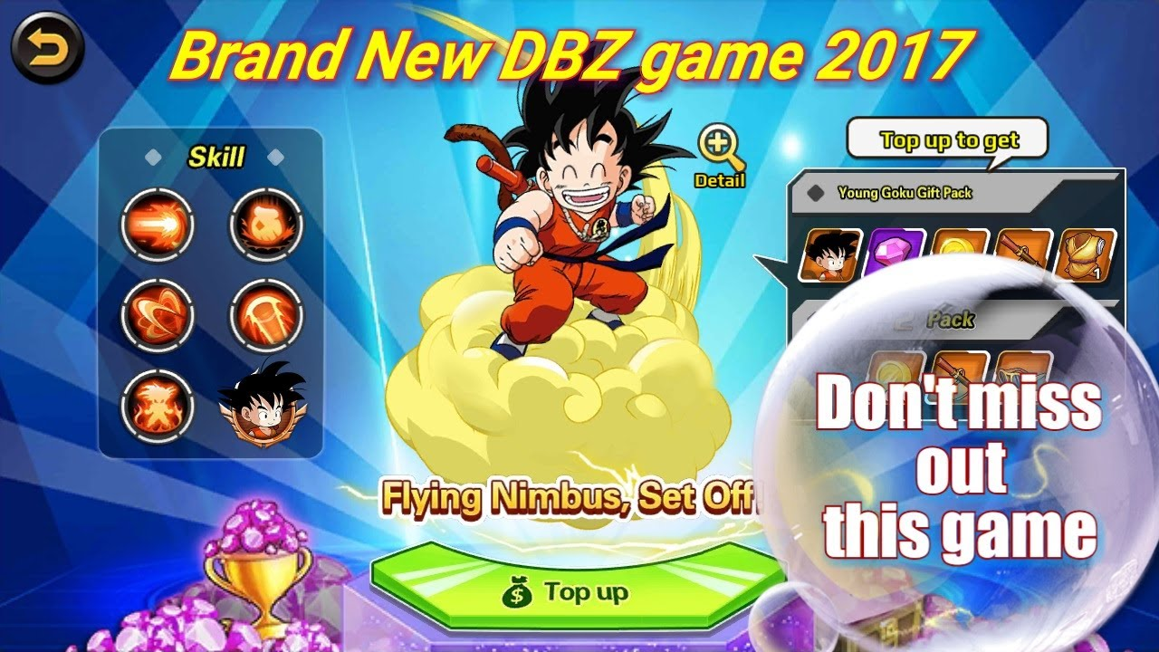 Dragonballz 2017 brand new Android game