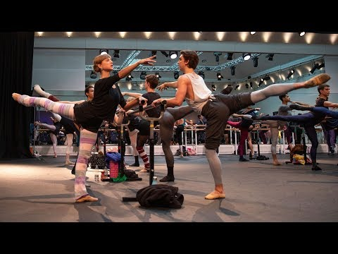The Royal Ballet morning class in full - World Ballet Day 20