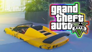 "Grand Theft Auto 5 PC Gameplay! ""LAG DRIVE!"" (GTA V PC)"