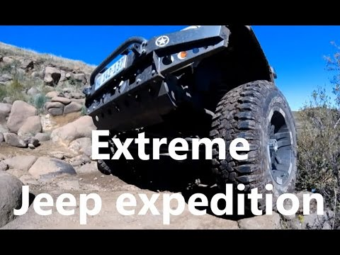 Extreme Jeep expedition Baboons Pass Lesotho (Africa)   Part 1