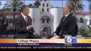 cw6 news 5 best and worst college majors