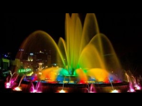 The magic fountain