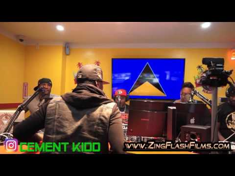 Cement Kidd - Caribbean Power Jam Radio Interview - March 2017