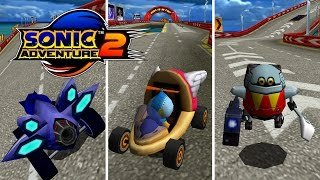 DLC Kart Races - Sonic Adventure 2