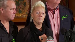 Harry Dunn's mother speaks out in NY on his death