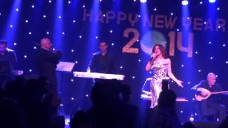 najwa karam new year 2014