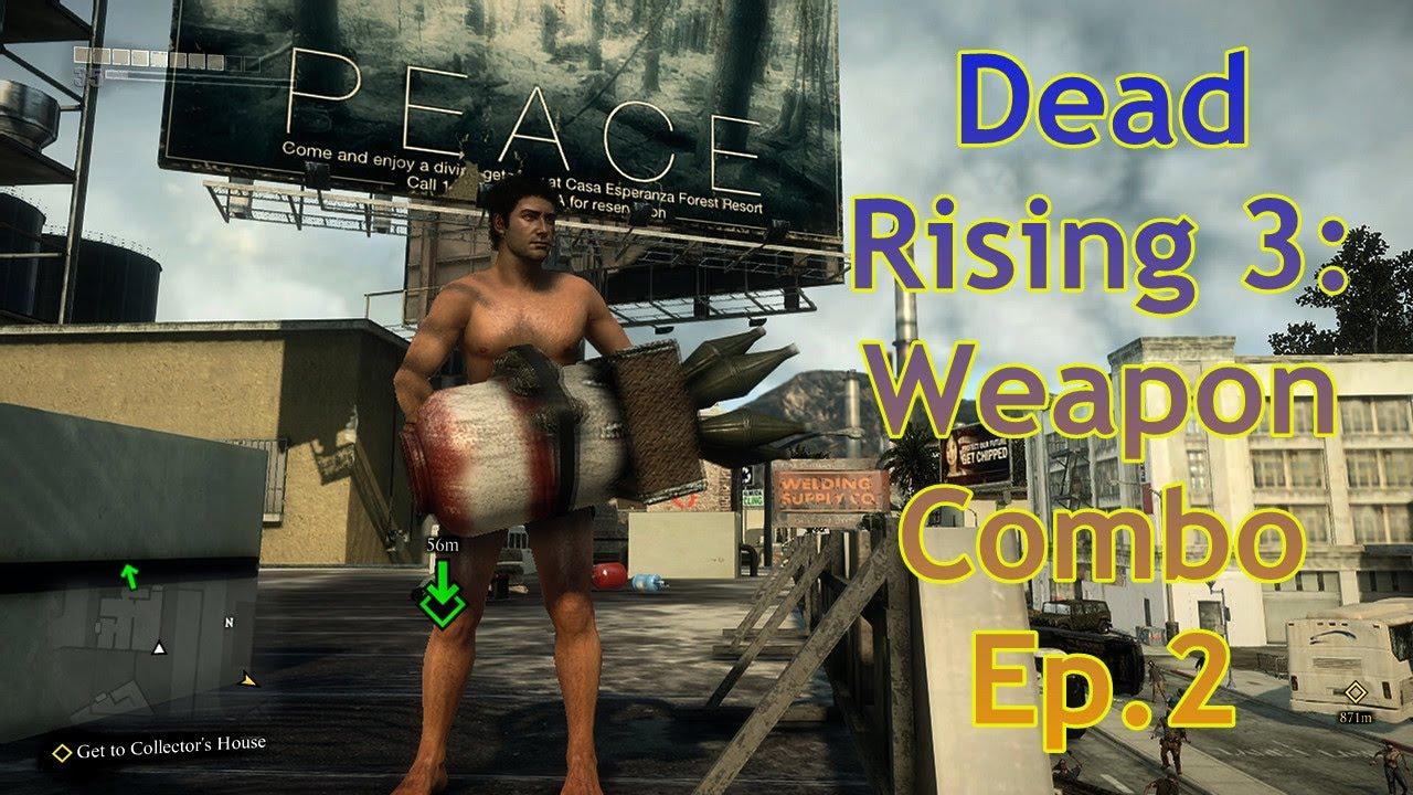 dead rising 3 weapon list - photo #42