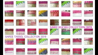 Saree Tassel making || Saree Kuchu Collection 2019 || Saree Kuchu New Designs