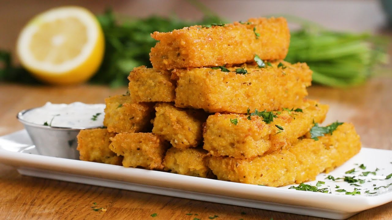 Polenta Fries Youtube