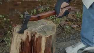 Old Faithful Hand Forged Solid Axe | SwordsSwords.com