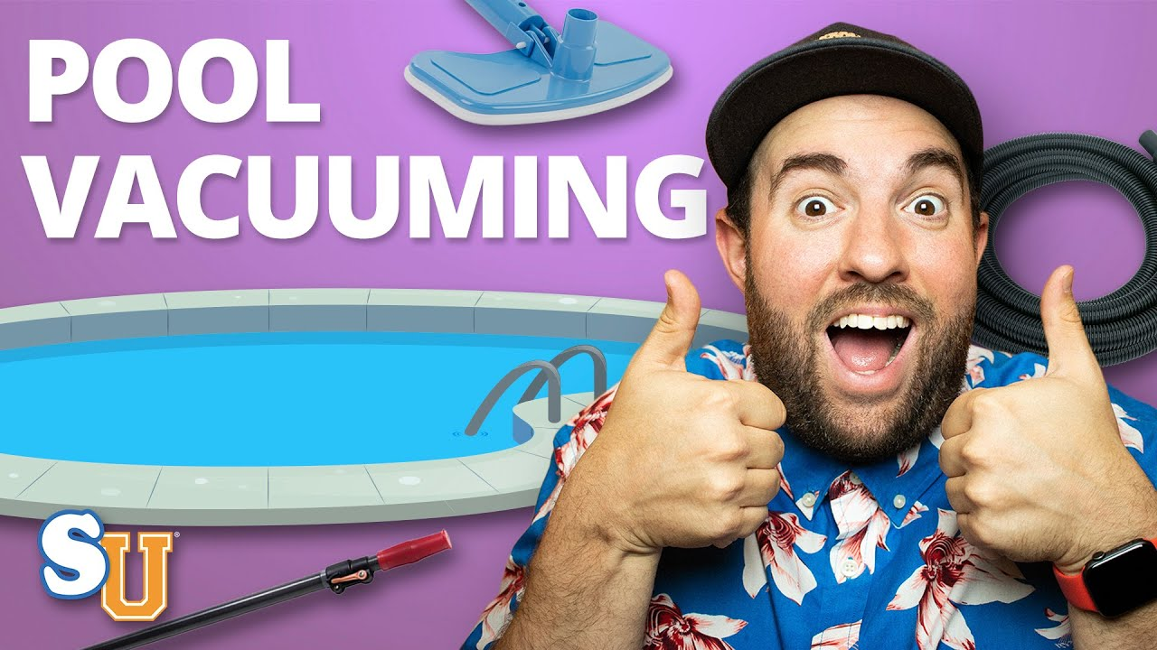 How To Vacuum A Swimming Pool Youtube