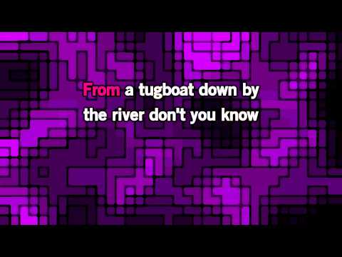 HD Robbie Williams Mack The Knife Karaoke lower tone
